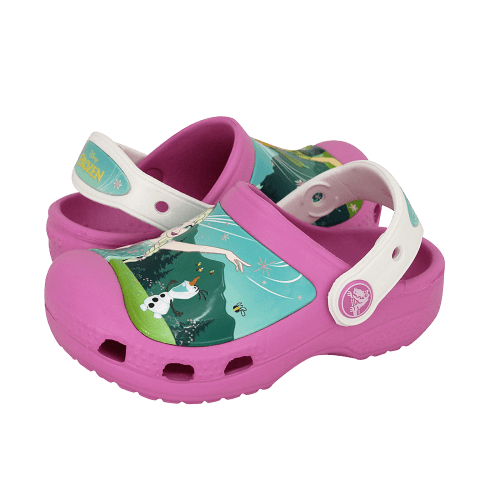 Παιδικά Σαμπώ Crocs Creative Crocs Frozen Fever Clog