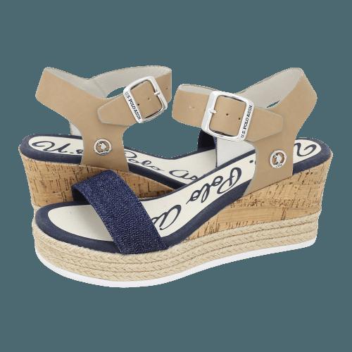 Πλατφόρμες U.S. Polo ASSN Nina 3 Jeans