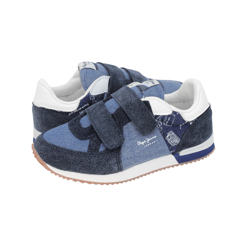 Casual Παιδικά Παπούτσια Pepe Jeans Sydney Print Kids