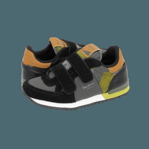 Casual Παιδικά Παπούτσια Pepe Jeans Sydney Camu Velcro