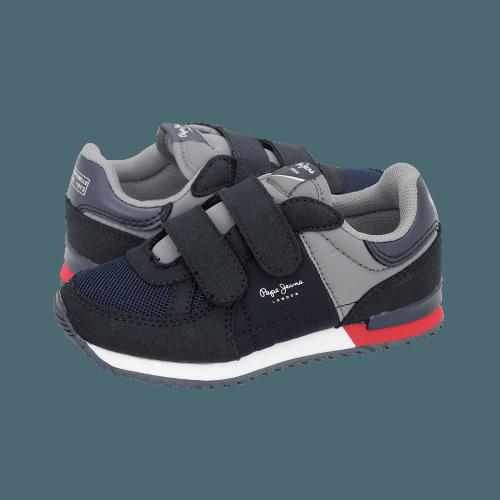 Casual Παιδικά Παπούτσια Pepe Jeans Sydney Basic Velcro