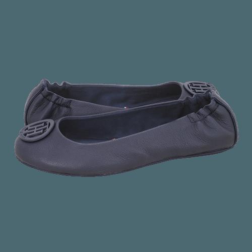 Μπαλαρίνες Tommy Hilfiger Flexible Leather Ballerina