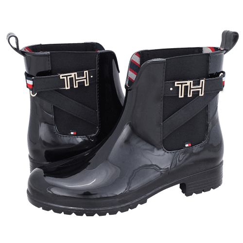 Γαλότσες Tommy Hilfiger TH Hardware Rubber Bootie