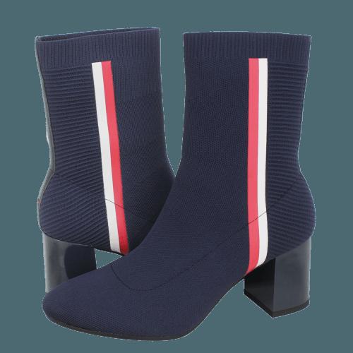 Μποτάκια Tommy Hilfiger Knitted Heeled Boot