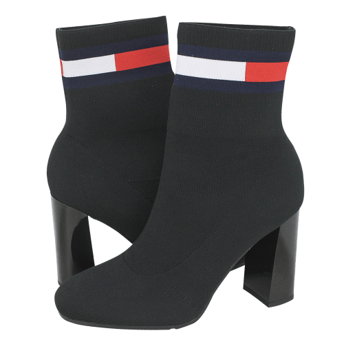 Μποτάκια Tommy Hilfiger Sock Heeled Boot