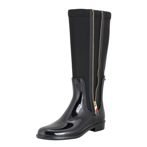 Γαλότσες Tommy Hilfiger Material Mix Long Rain Boot