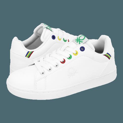 Παπούτσια casual Benetton Penn Multirings