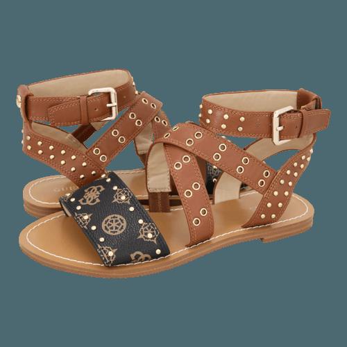 Σανδάλια Guess Cevie Real Leather Sandal