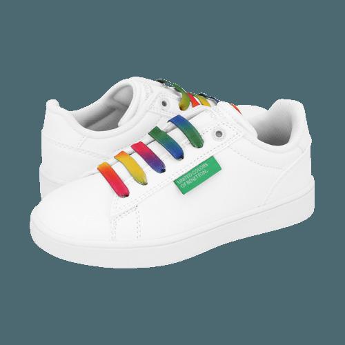 Casual Παιδικά Παπούτσια Benetton Label Multicolor Laces