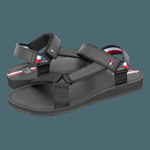Σανδάλια Tommy Hilfiger TH Strappy Corporate Sandal