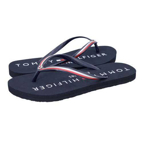 Σανδάλια Tommy Hilfiger Tommy Glossy Beach Sandal