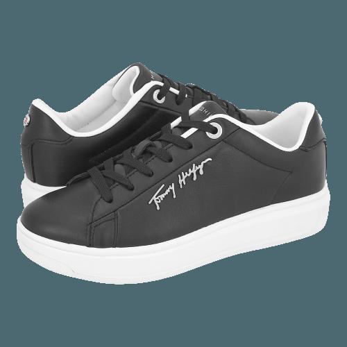 Παπούτσια casual Tommy Hilfiger Signature Leather Sneaker