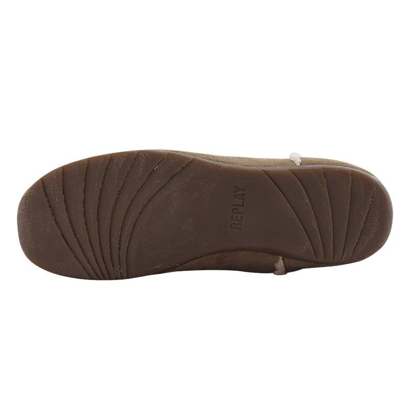 9d235950edb Boninne - Γυναικείες μπότες Casual Replay από υφασμα και γουνα ...