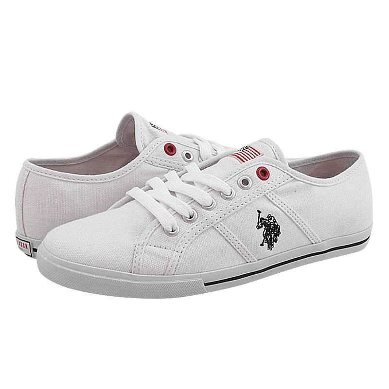 Chelsham - Γυναικεία παπούτσια casual U.S. Polo ASSN από υφασμα ... b95b00363ae