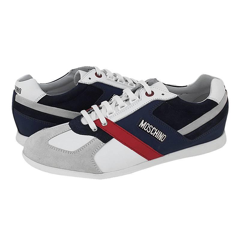70302cec10 Ciele - Ανδρικά παπούτσια casual Moschino από δερμα και καστορι ...