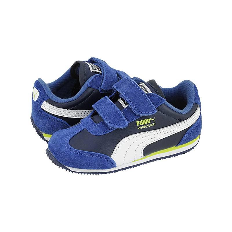 Whirlwind LV - Παιδικά αθλητικά παπούτσια Puma από καστορι και δερμα ... 853c2f2d4fe