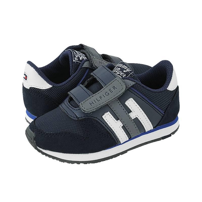 376dee7d109 Cheb - Παιδικά παπούτσια casual Tommy Hilfiger από καστορι, δερμα ...