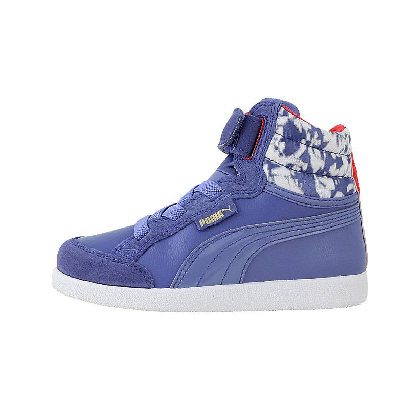 IKAZ Mid Strap S - Παιδικά αθλητικά παπούτσια Puma από δερμα ... af22140504c