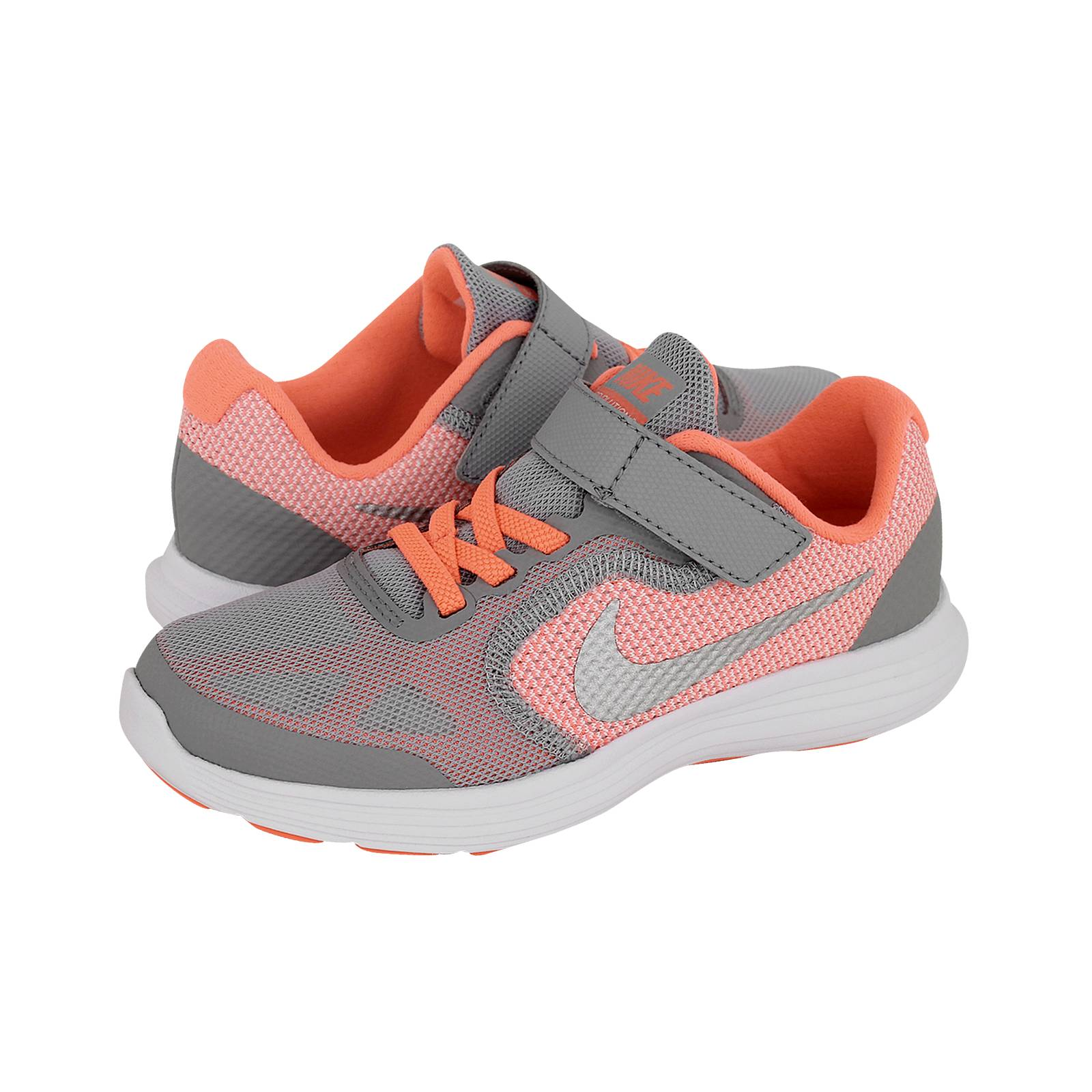 8be0bd6c7a4 Nike Revolution 3 PSV - Παιδικά αθλητικά παπούτσια Nike από υφασμα ...