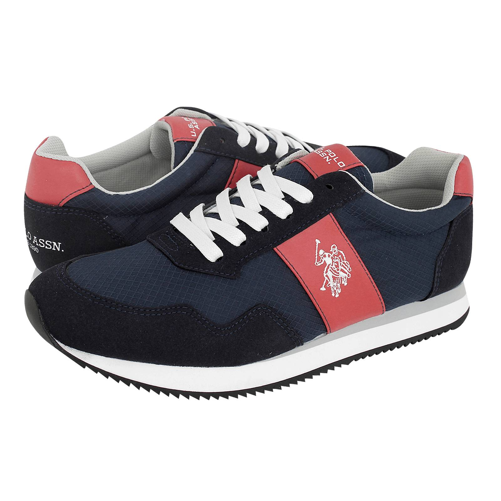 Cambil - Ανδρικά παπούτσια casual U.S. Polo ASSN από ύφασμα και ... b09b8adbf0e