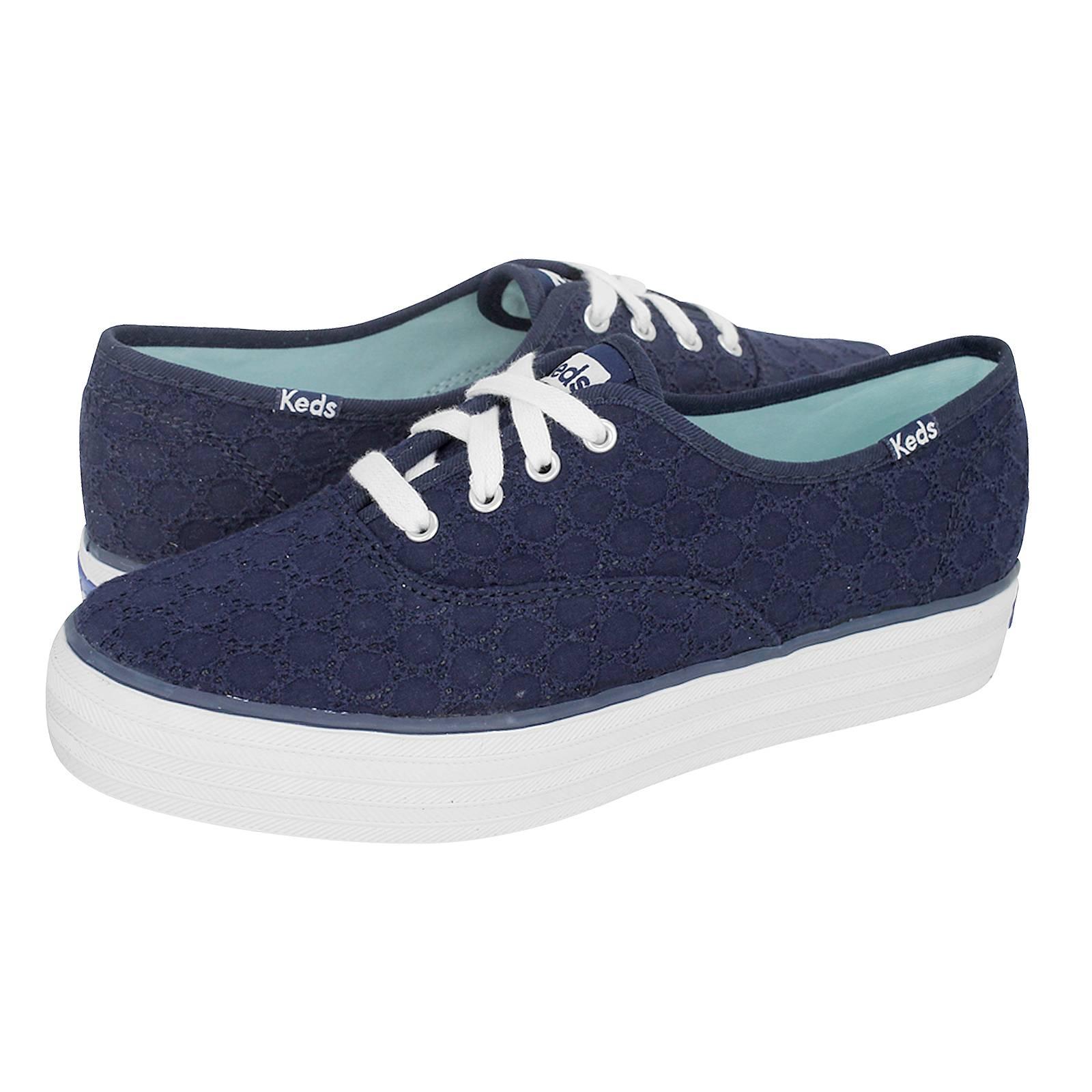 Triple Eyelet - Γυναικεία παπούτσια casual Keds από υφασμα - Gianna ... 47e212d8330