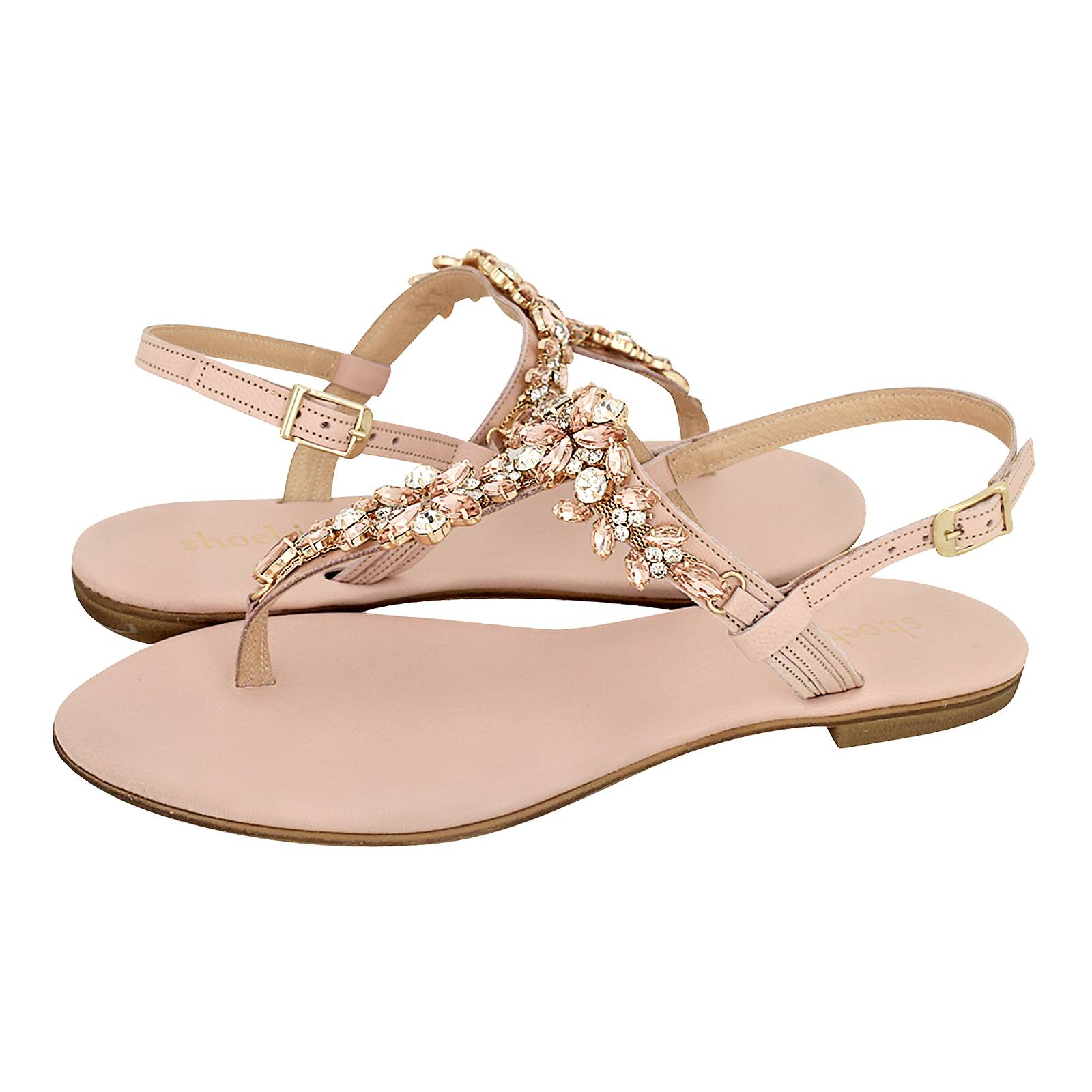 Noves - Γυναικείες σαγιονάρες Shoe Bizz από δέρμα - Gianna Kazakou ... 4d2c56fd128