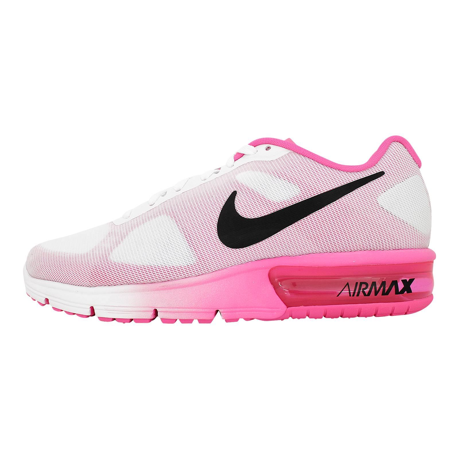 Air Max Sequent - Γυναικεία αθλητικά παπούτσια Nike από υφασμα ... d47b10b27e6