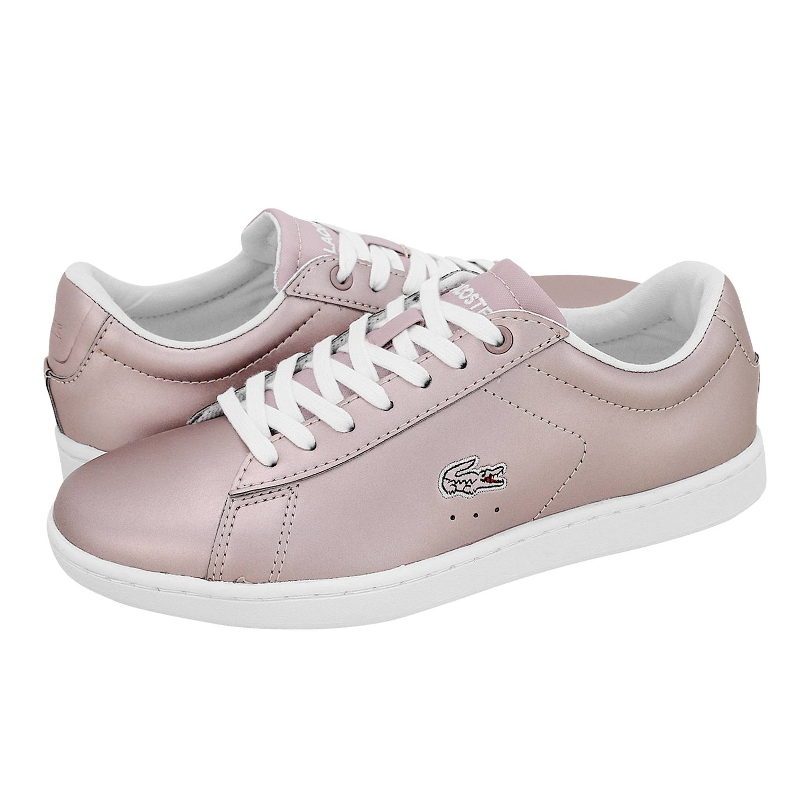 Carnaby EVO - Γυναικεία παπούτσια casual Lacoste από δέρμα - Gianna ... 418649fccf5