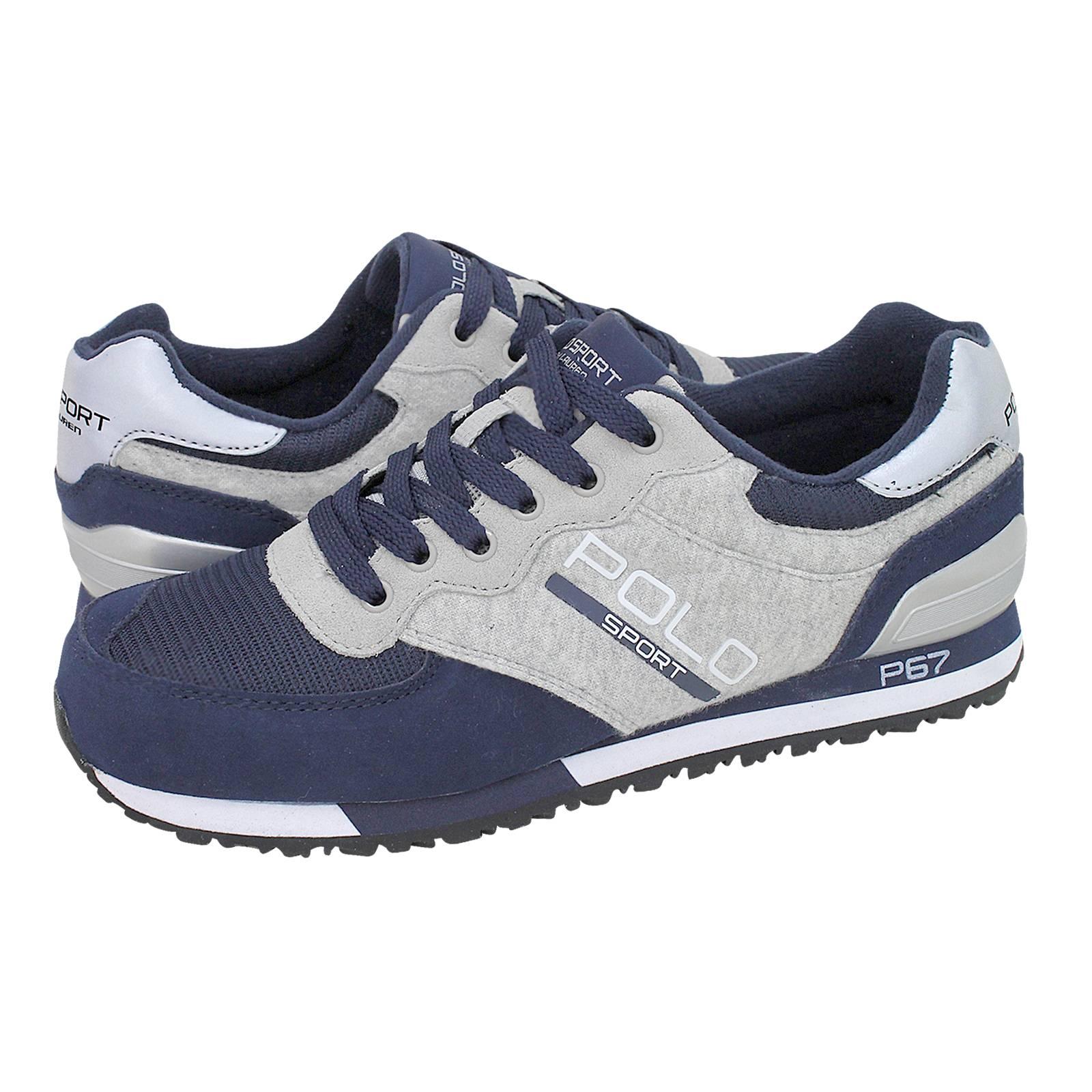 e5bad21a980 Coman - Ανδρικά παπούτσια casual Polo Sport Ralph Lauren από καστορι ...
