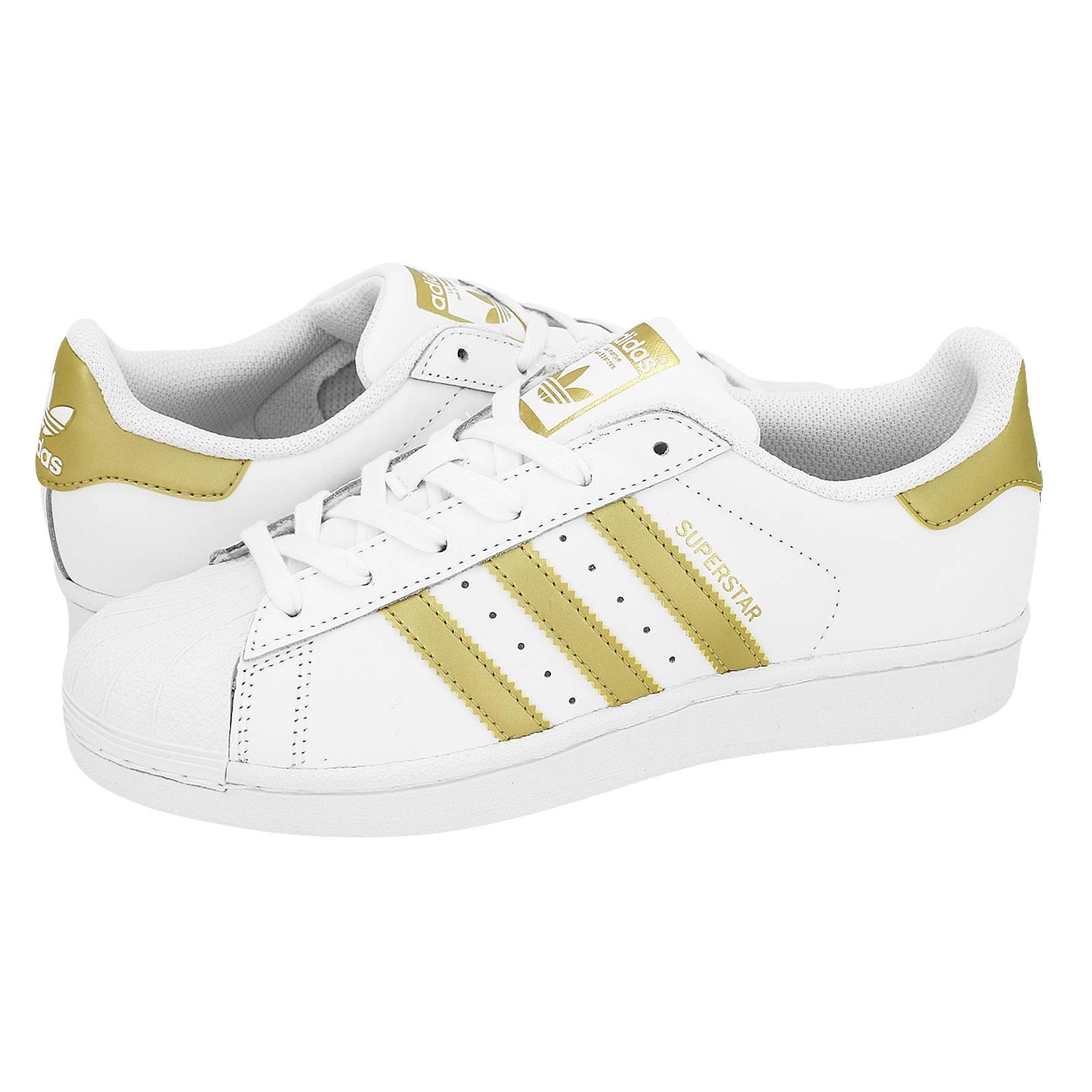 Superstar J - Γυναικεία παπούτσια casual Adidas από δερμα και ... b402dd314e5