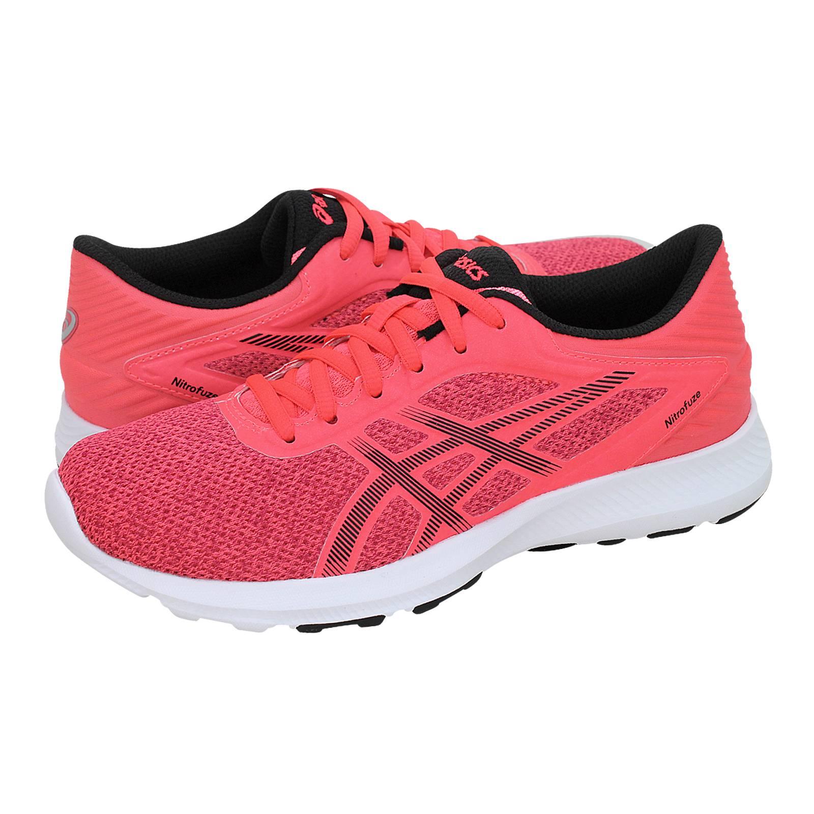 Nitrofuse - Γυναικεία αθλητικά παπούτσια Asics από υφασμα και ... 9896caddff6