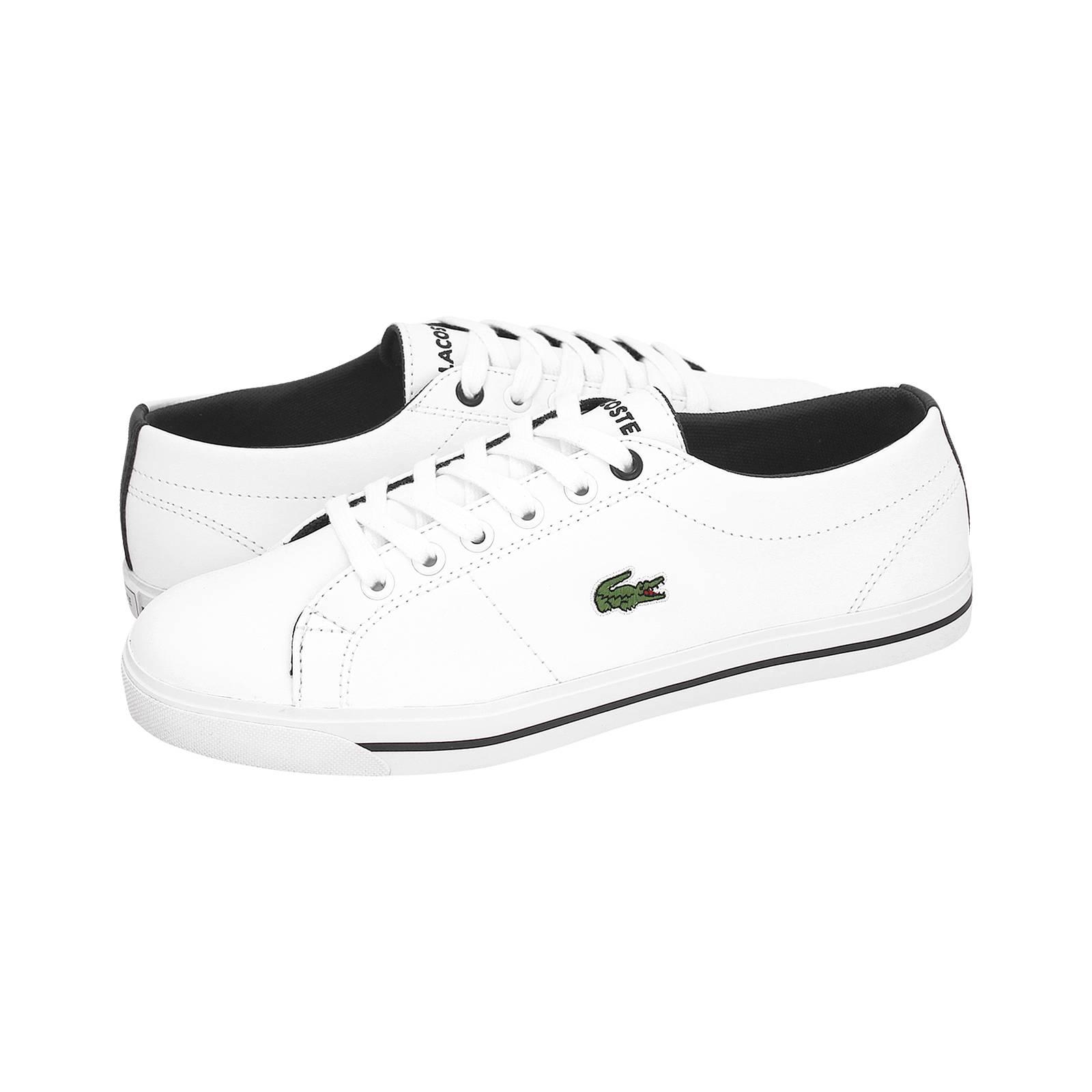 Marcel - Παιδικά παπούτσια casual Lacoste από δερμα συνθετικο ... b6f7cf4c43c
