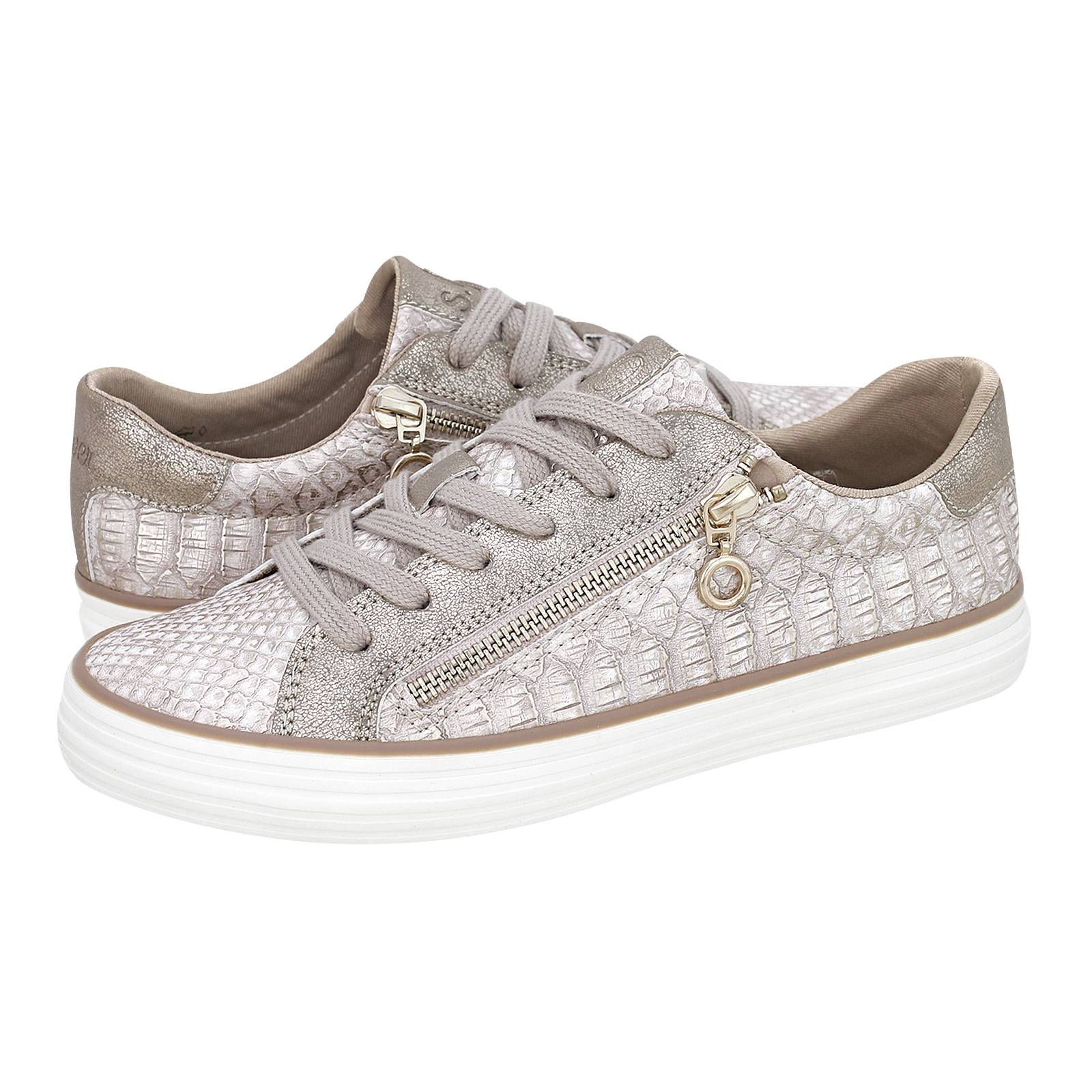 Chirols - Γυναικεία παπούτσια casual s.Oliver από δερμα croco ... e40144180b9
