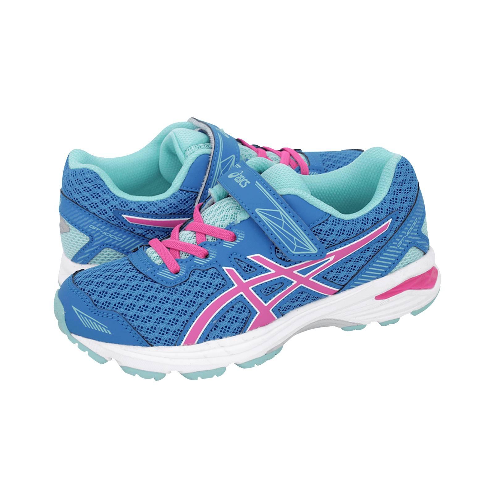 c7da9c31b450 GT-1000 5 PS - Παιδικά αθλητικά παπούτσια Asics από υφασμα και δερμα ...