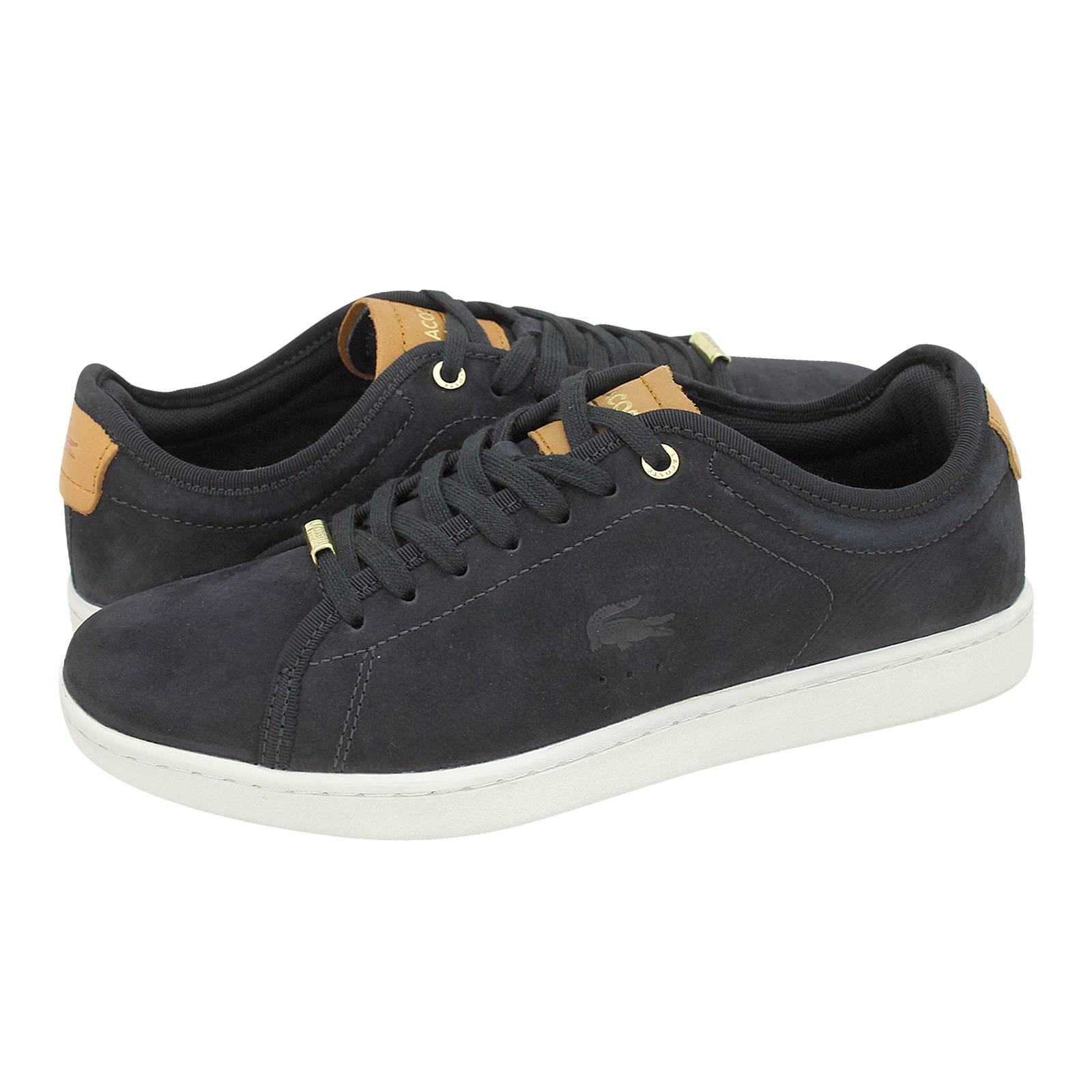 Carnaby Evo 317 - Γυναικεία παπούτσια casual Lacoste από nubuck και ... cccc1b6912e