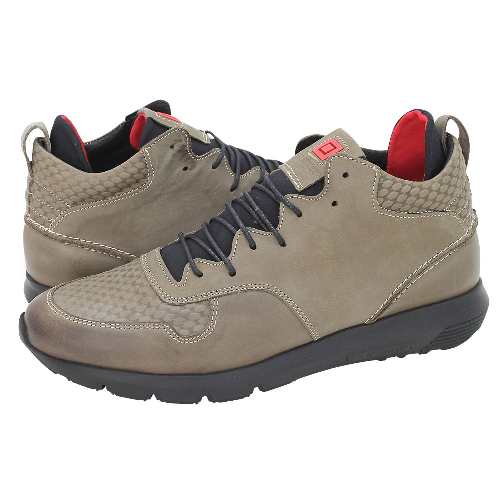 6911ac1350 Snap 2 - Ανδρικά παπούτσια casual Kricket από δέρμα - Gianna Kazakou ...