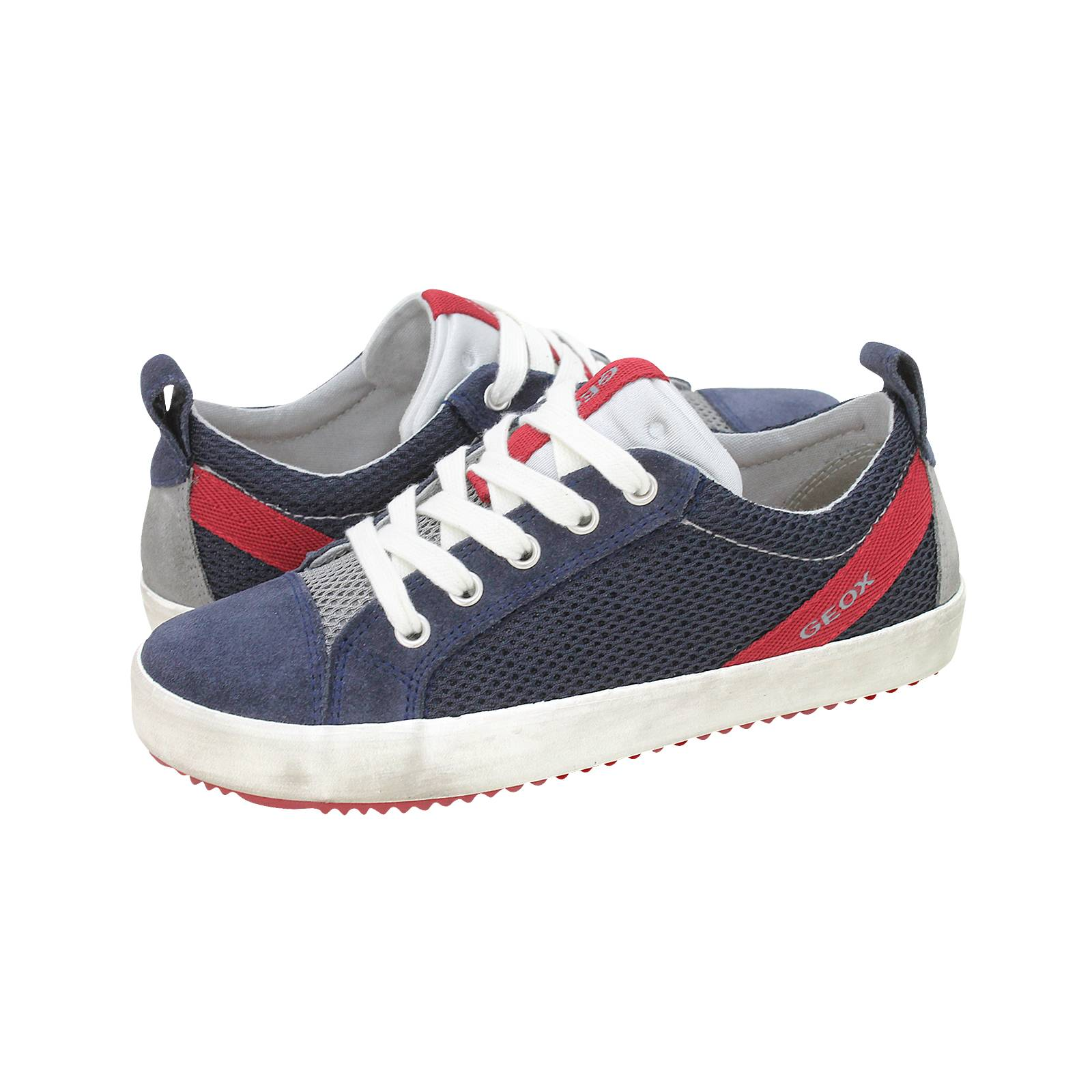 329fe92adf J Alonisso B - Παιδικά παπούτσια casual Geox από υφασμα και καστορι ...