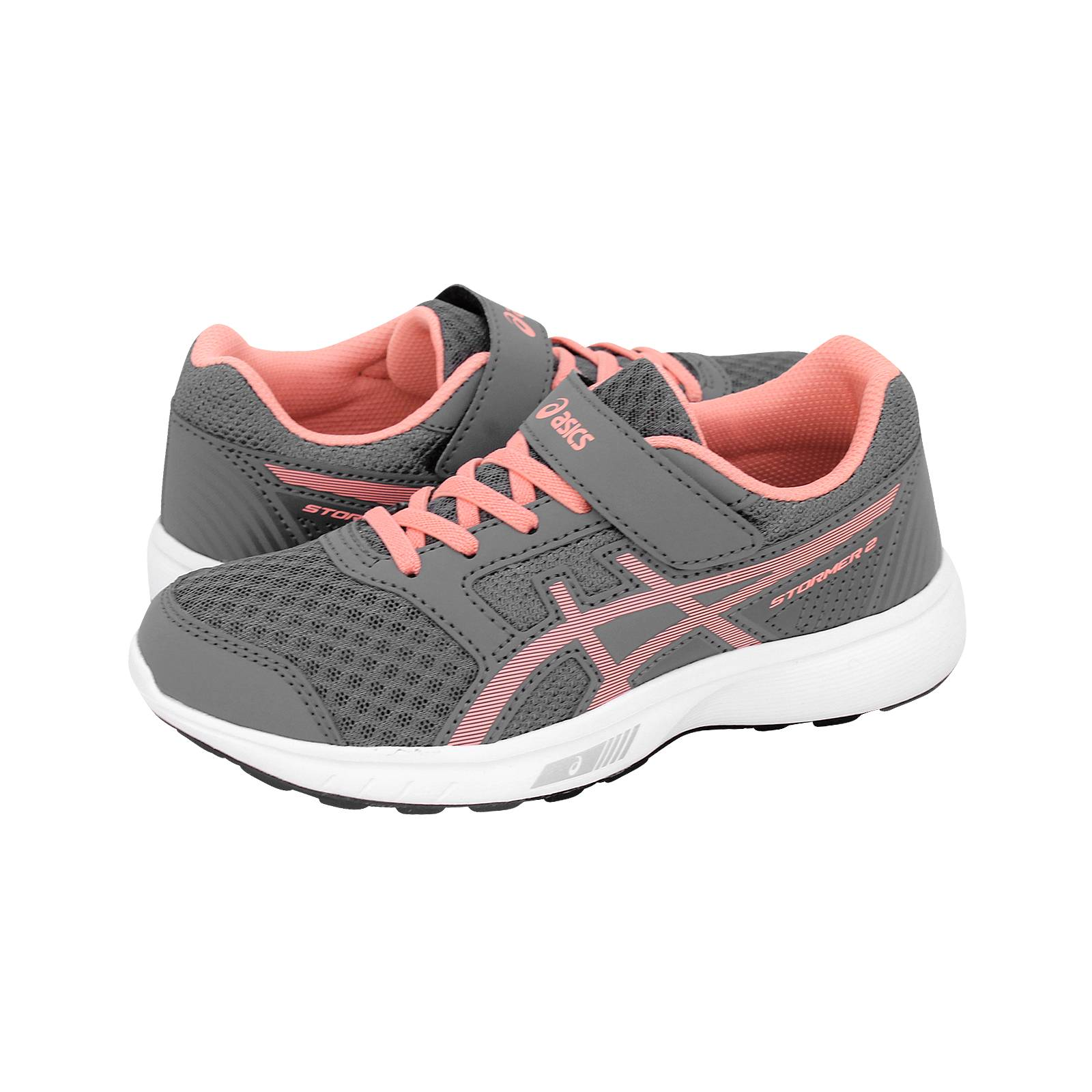 778f54f2c3e Stormer 2 PS - Παιδικά αθλητικά παπούτσια Asics από υφασμα και δερμα ...