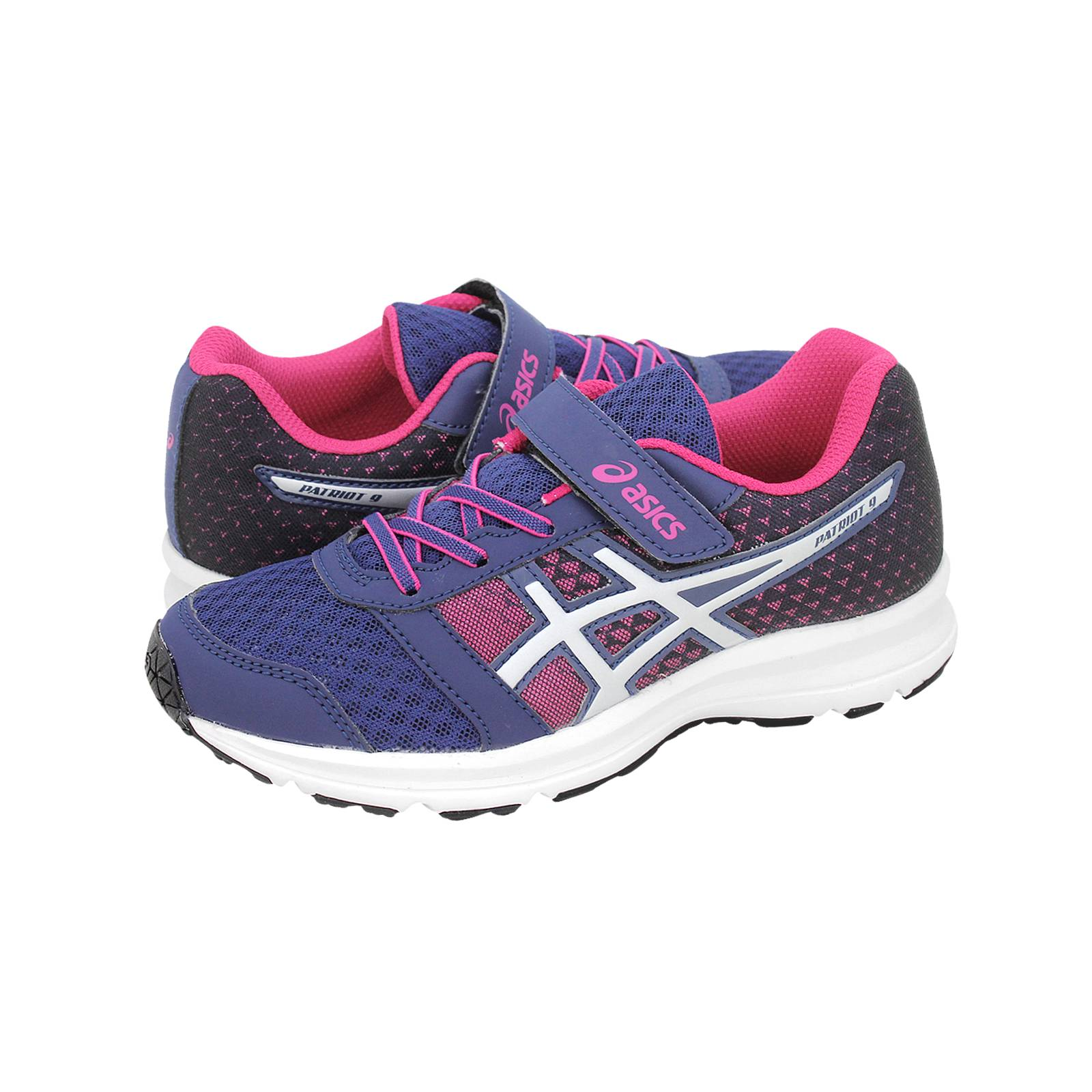 90d184828f5 Patriot 9 - Παιδικά αθλητικά παπούτσια Asics από υφασμα και δερμα ...