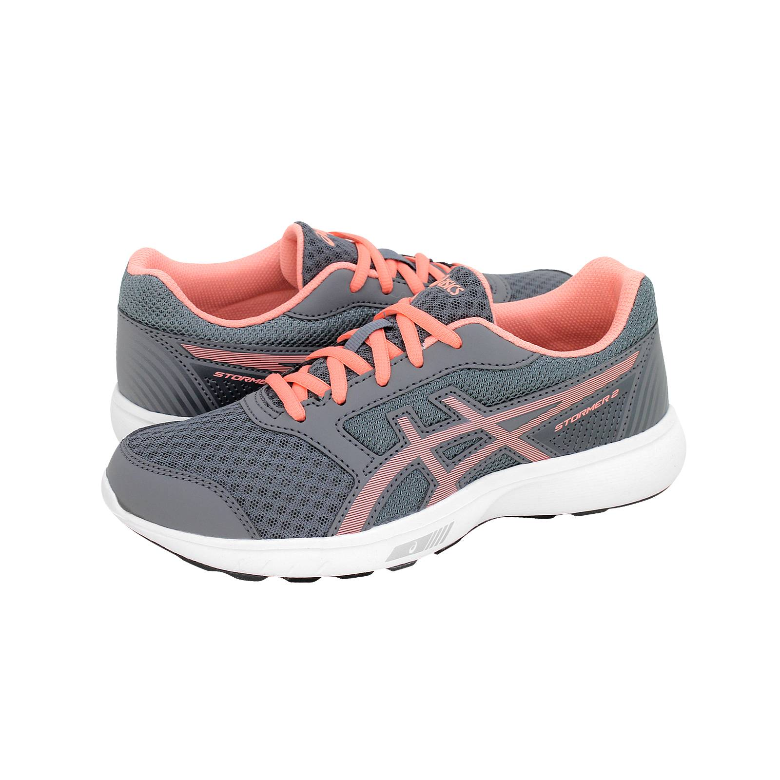 Stormer 2 GS - Παιδικά αθλητικά παπούτσια Asics από υφασμα και δερμα ... f941b46035b