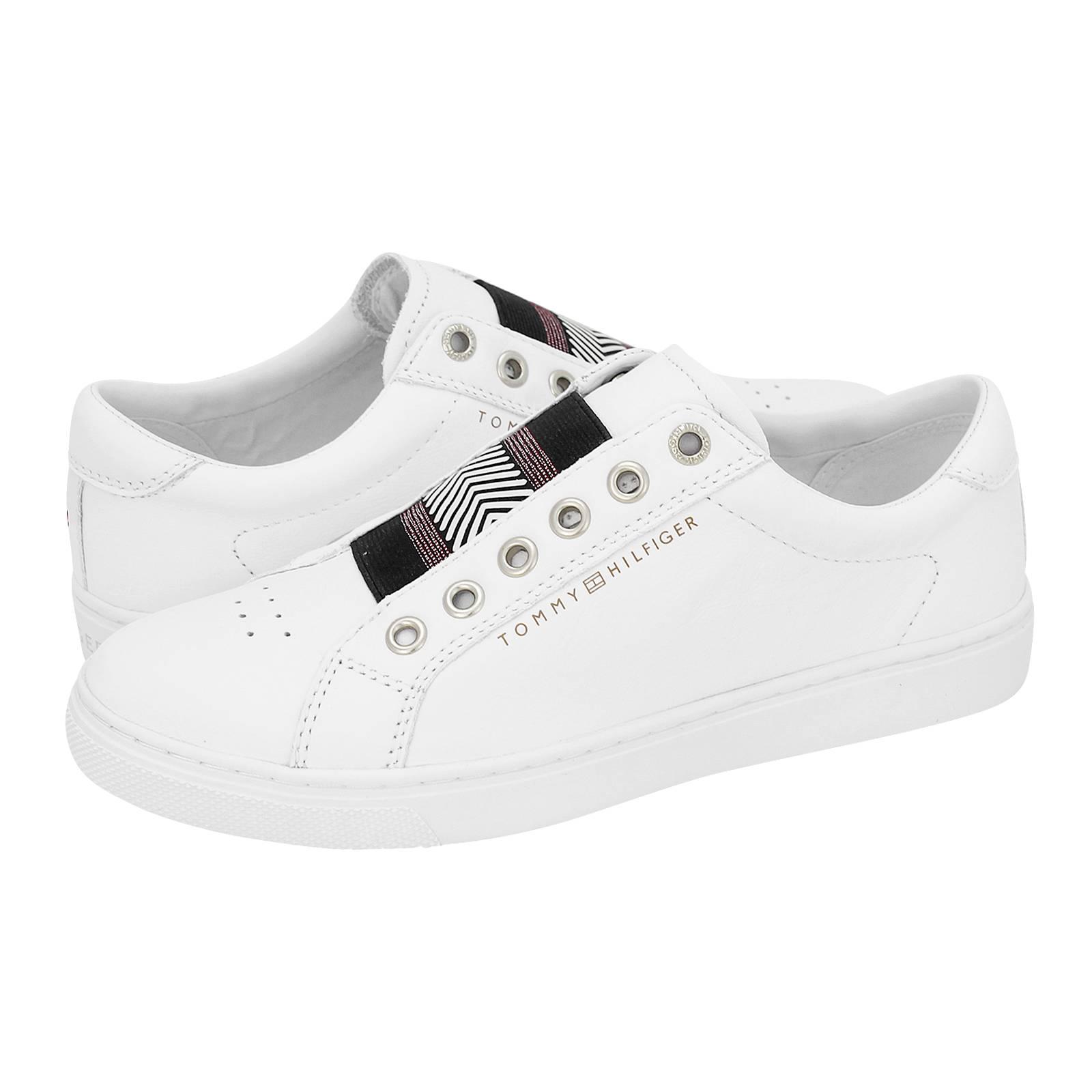 Iconic Metallic Elastic Sneaker - Γυναικεία παπούτσια casual Tommy ... 6f550e78340