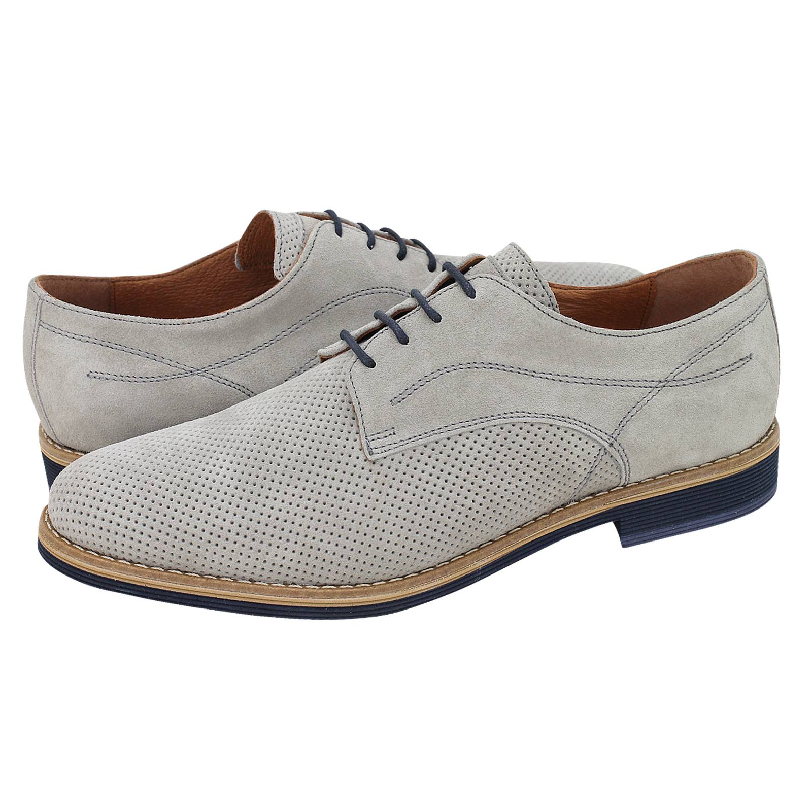 Sucha - Ανδρικά δετά παπούτσια Kricket από καστορι - Gianna Kazakou ... b91bb1b8a42
