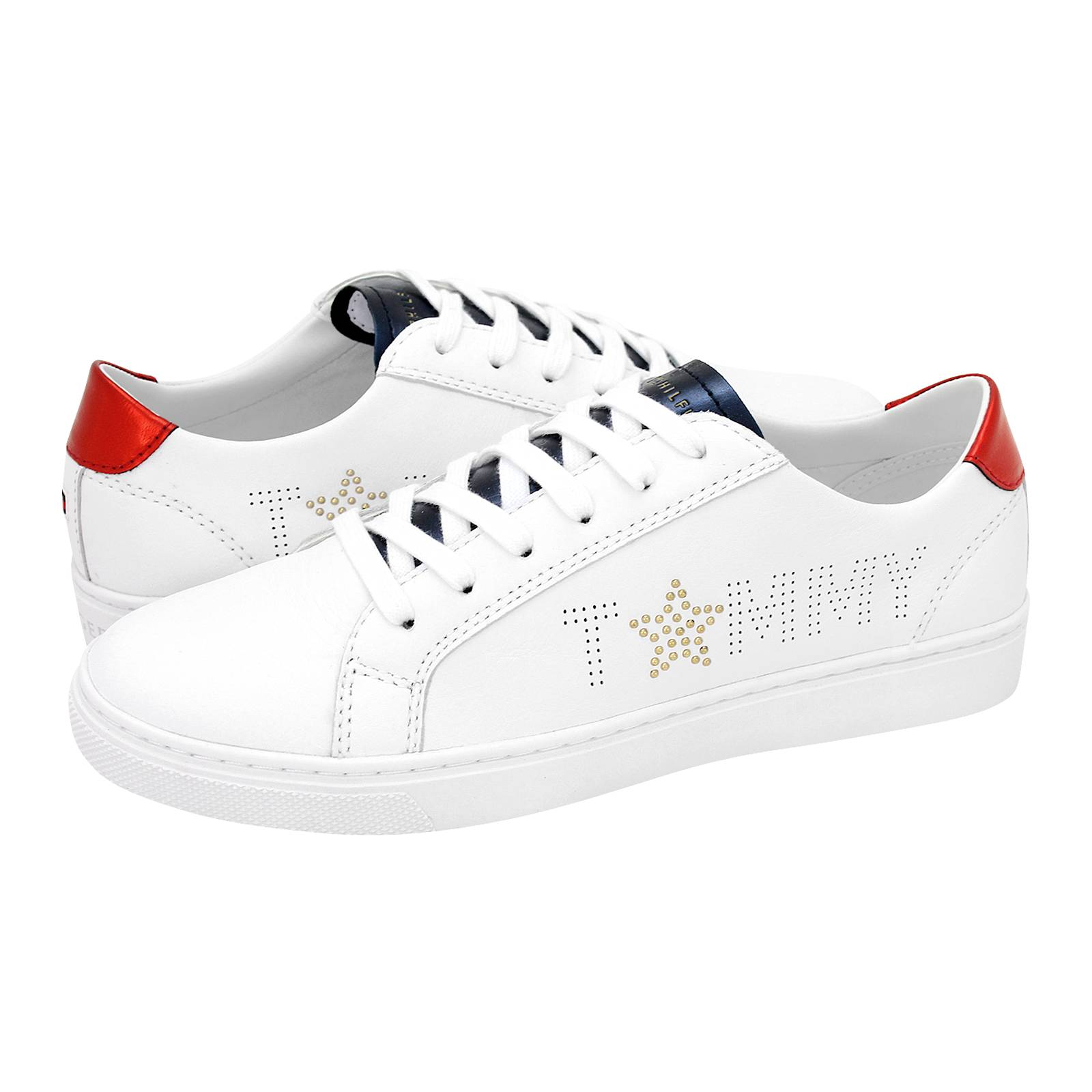 7031a7394e3 Star Metallic Sneaker - Γυναικεία παπούτσια casual Tommy Hilfiger ...