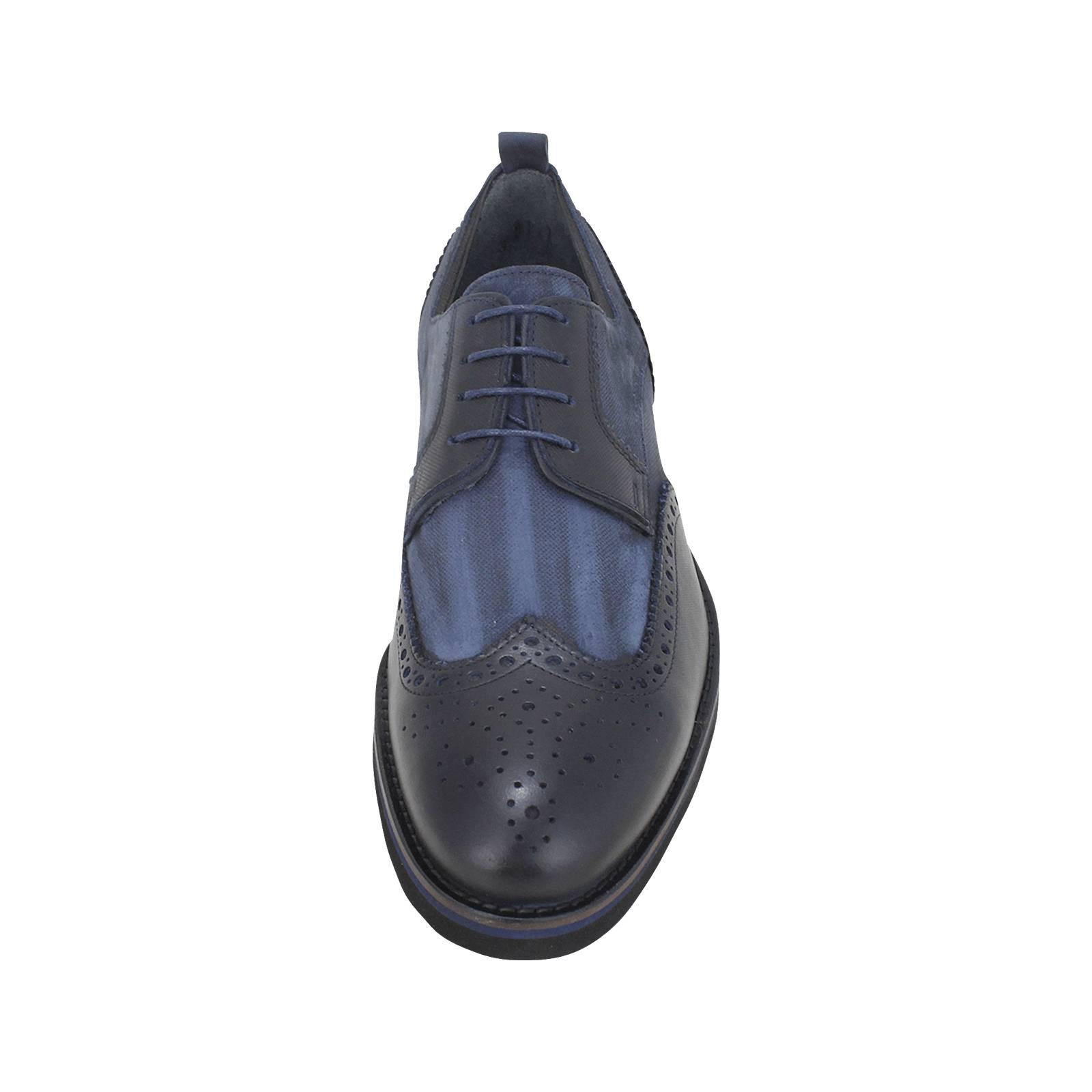 Sierling - Ανδρικά δετά παπούτσια GK Uomo από δερμα και λαστιχο ... 166f53e635e