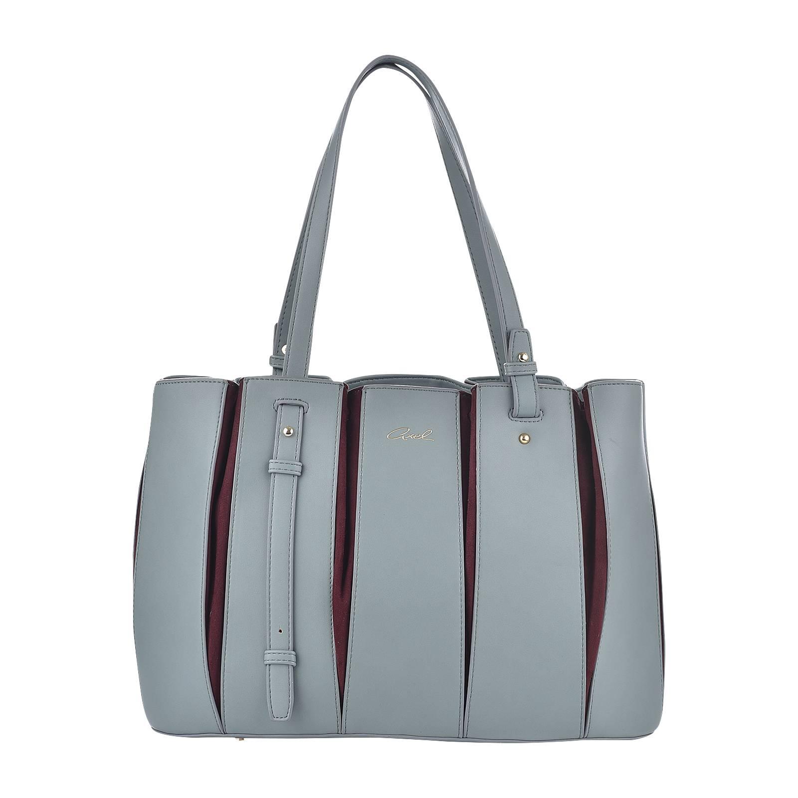 b44fa1987 Rebecca - Γυναικεία τσάντα Axel από δερμα συνθετικο και υφασμα ...