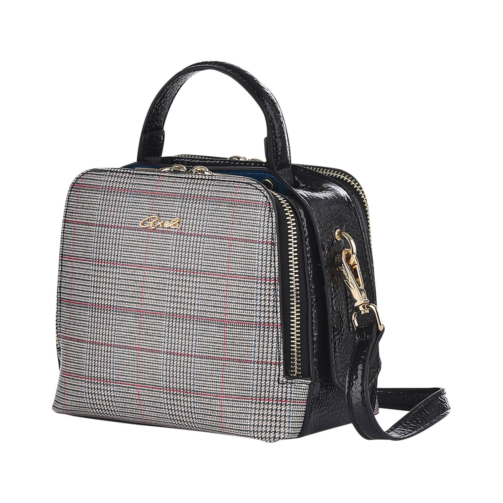 Wales Check - Γυναικεία τσάντα Axel από δερμα συνθετικο - Gianna ... 9af2a610244