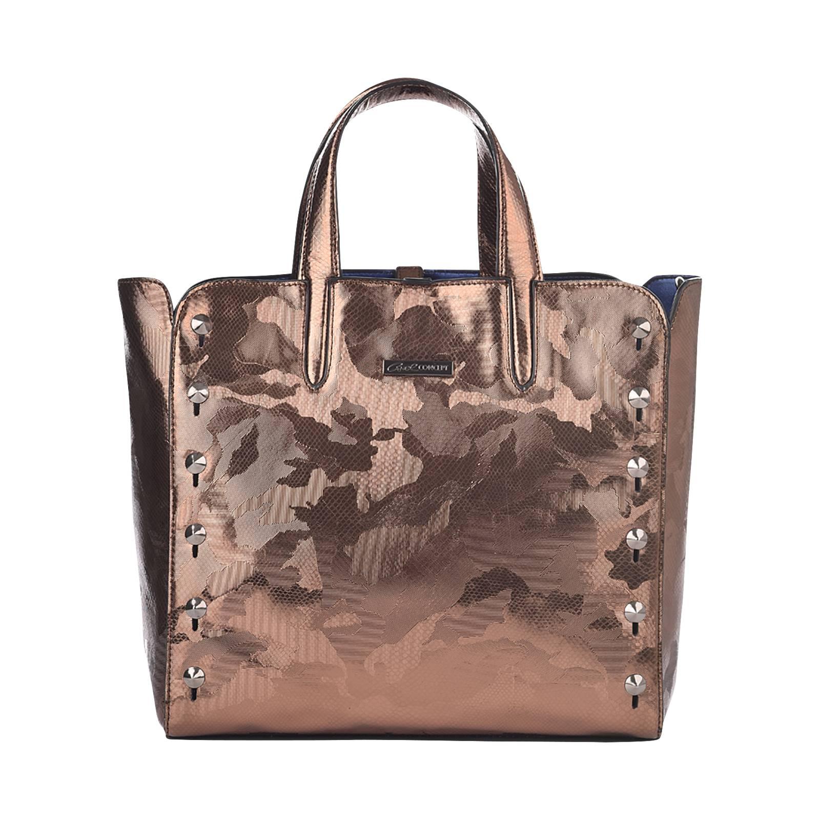 4c077756d7 Carolyn L - Γυναικεία τσάντα Axel Concept από δερμα μεταλλικο ...