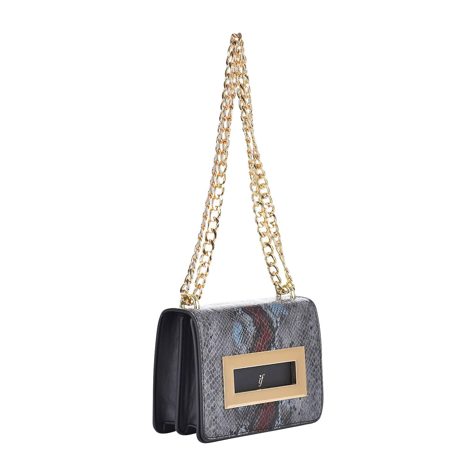 Tess - Γυναικεία τσάντα If από δερμα φιδι συνθετικο και δερμα ... 41d87cbc193