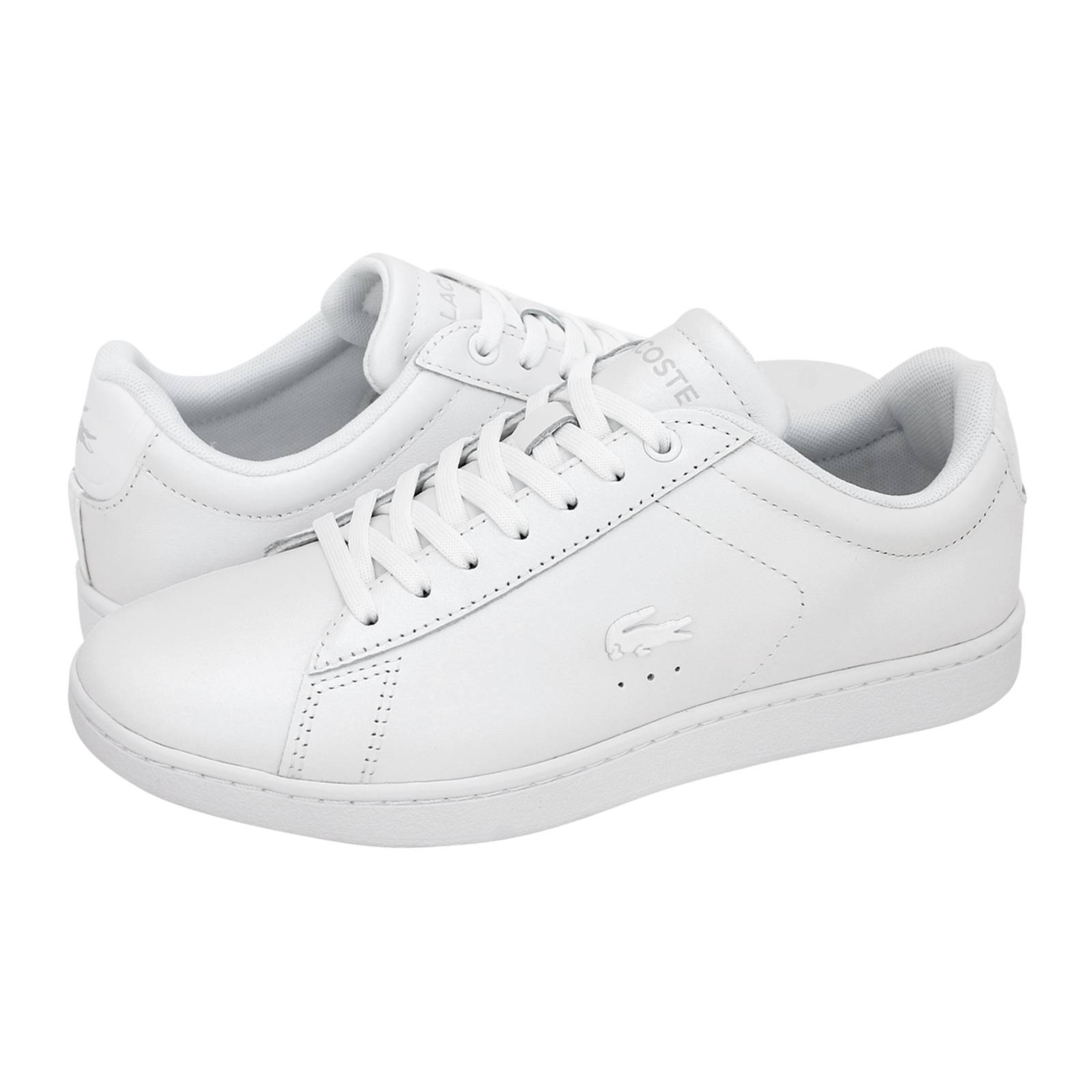 Carnaby Evo - Γυναικεία παπούτσια casual Lacoste από δερμα περλε ... 7da9d8aaafb