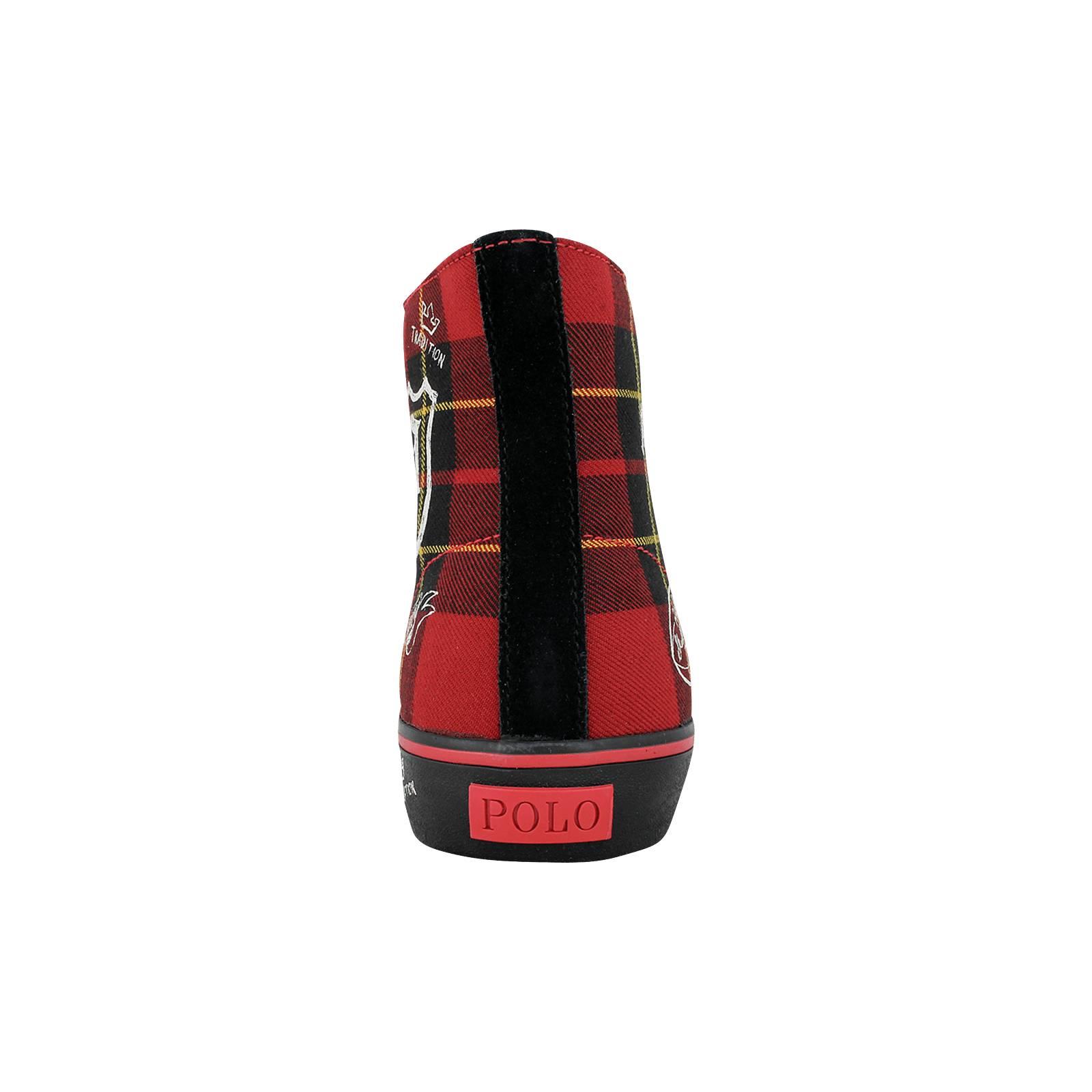 f90d98763fc Solomon - Ανδρικά μποτάκια casual Polo Ralph Lauren από υφασμα και ...